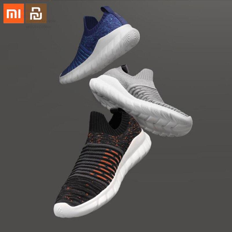 Original xiaomi mijia FREETIE volant tissé chaussures de marche léger respirant hommes de haute qualité chaussures décontractées maison intelligente
