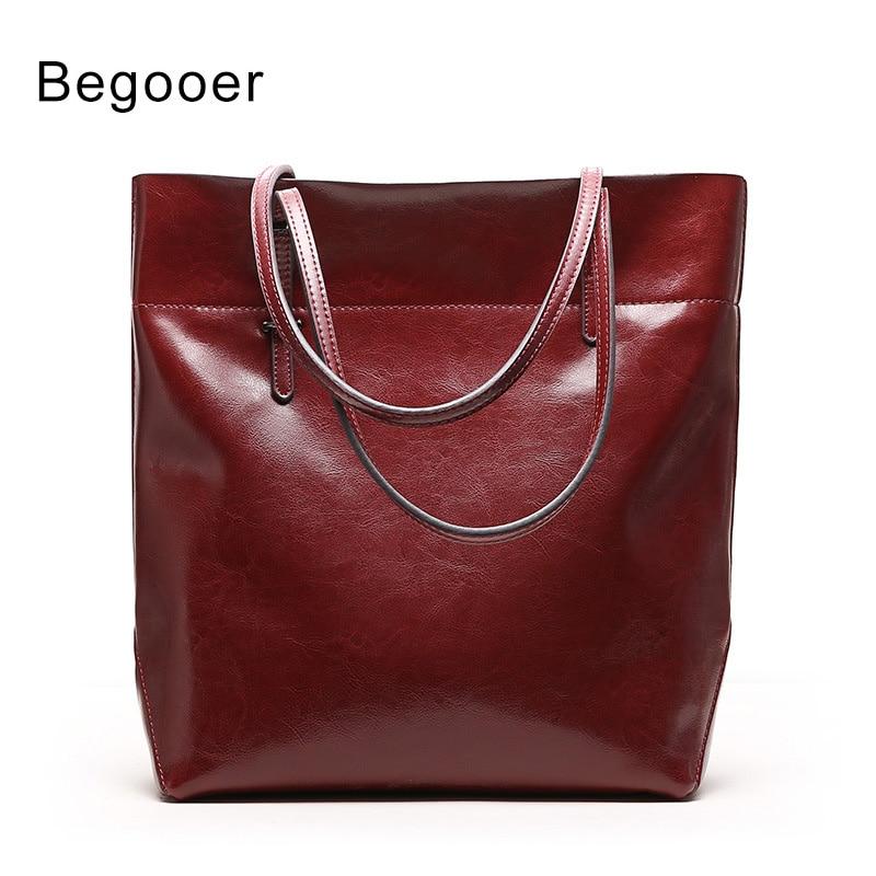 Women Handbag Big Totes Genuine Leather Female Shoulder Messenger Bags Bucket Bag Lager Capacity Handbags Ladies