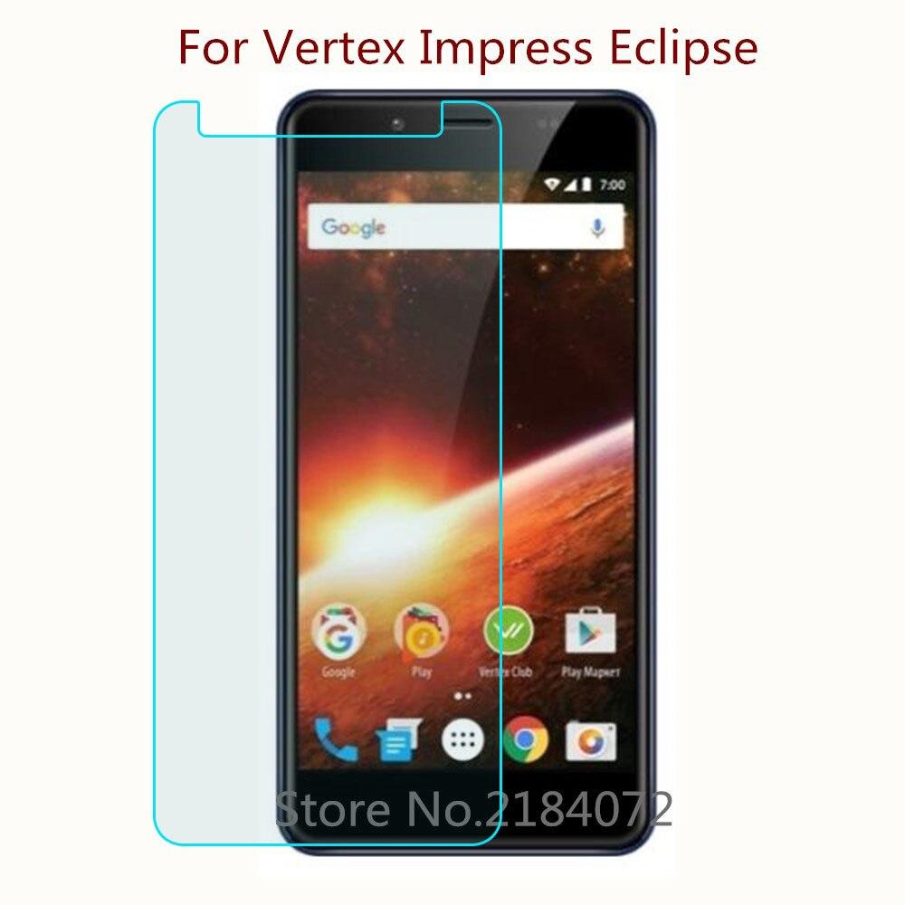 Купить 9h 2,5D Экран протектор Стекло для Vertex Impress Eclipse закаленное Стекло Смартфон Передняя защитная пленка Экран на Алиэкспресс