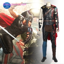 THOR Ragnarok  Cosplay Costume Custom made Thor Odinson thor 3 Chris Hemsworth superhero costume full prop cospla suit