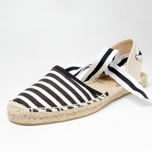 Dropshipping Canvas Espadrille Women Flats Ankle Strap Hemp Bottom Fisherman Shoes for 2018 Spring/Autumn Women Loafers