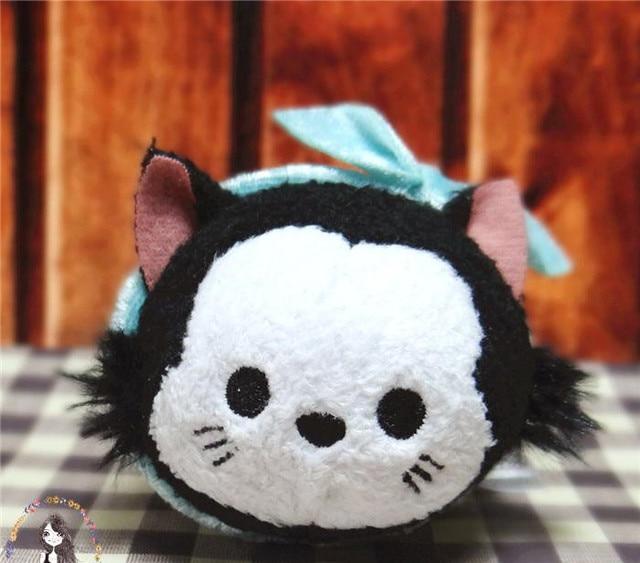 Nouvelle arriv e pinocchio figaro chat or poissons mini poup e jouet en peluche d 39 anniversaire - Chat dans pinocchio ...