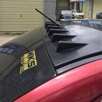 Roof Spoiler Shark Fin Wing Lip For Mitsubishi Lancer EX PP Primer 2008 2016