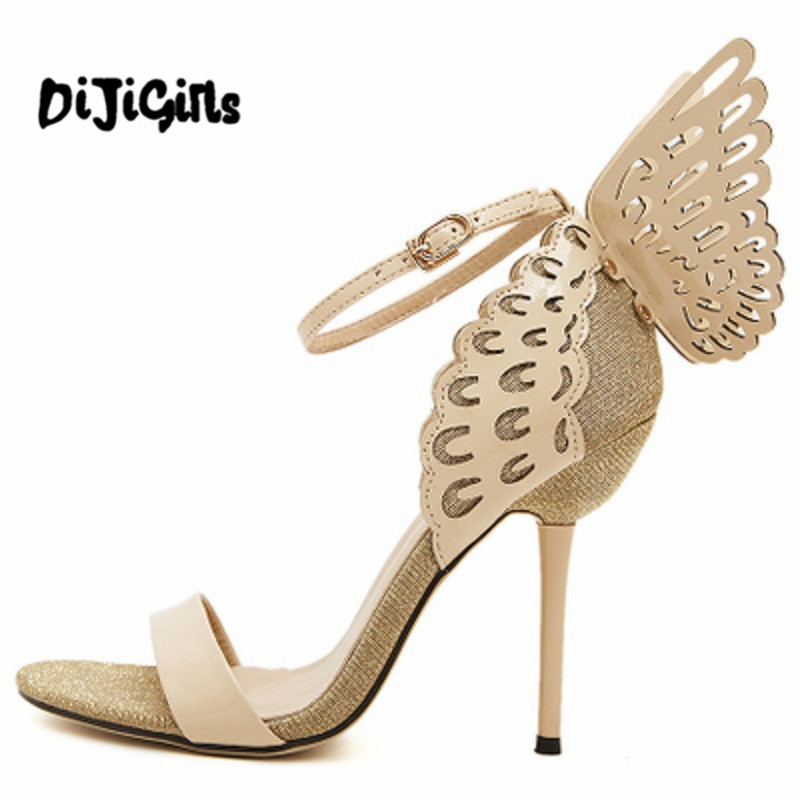 Sophia Webster Butterfly Wings Women High Heels Bowtie Summer Shoes Sandals Woman Pointed Toe Ankle Strap Shoes Pumps selle royal freeway велосипедное седло силикагеля для шоссейного велосипеда складного велосипеда