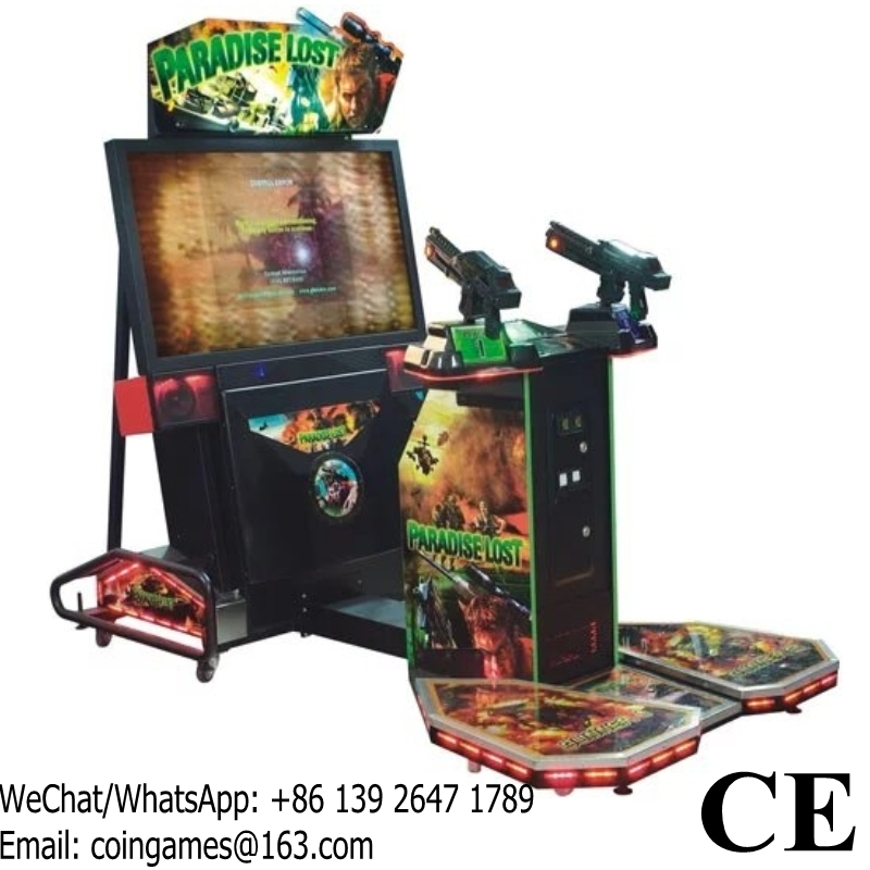 six shooter arcade game