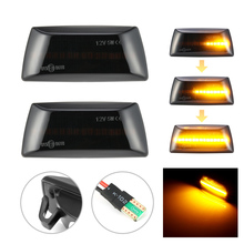 2pcs Dynamic LED Car Side Marker Lights Repeater Signal Lights For Opel Insignia Astra H Zafira B Corsa D For Chevrolet Cruze