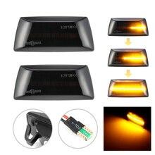 2pcs דינמי LED רכב צד מרקר אורות מהדר אות אורות עבור אופל Insignia אסטרה H Zafira B Corsa D עבור שברולט Cruze