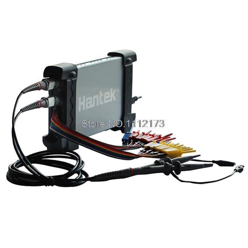 Hantek 6022BL PC USB Oscilloscope 2 Digital Channels 20MHz Bandwidth 48MSa/s Sample Rate 16 Channels Logic Analyzer осциллограф hantek 6022be usb storag 2channels 20 48msa s
