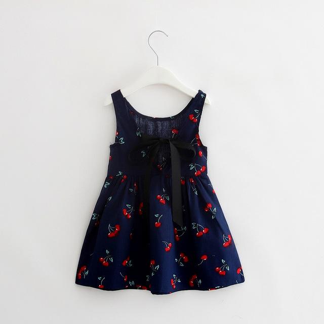 Cherry Vest Girl Baby Clothing