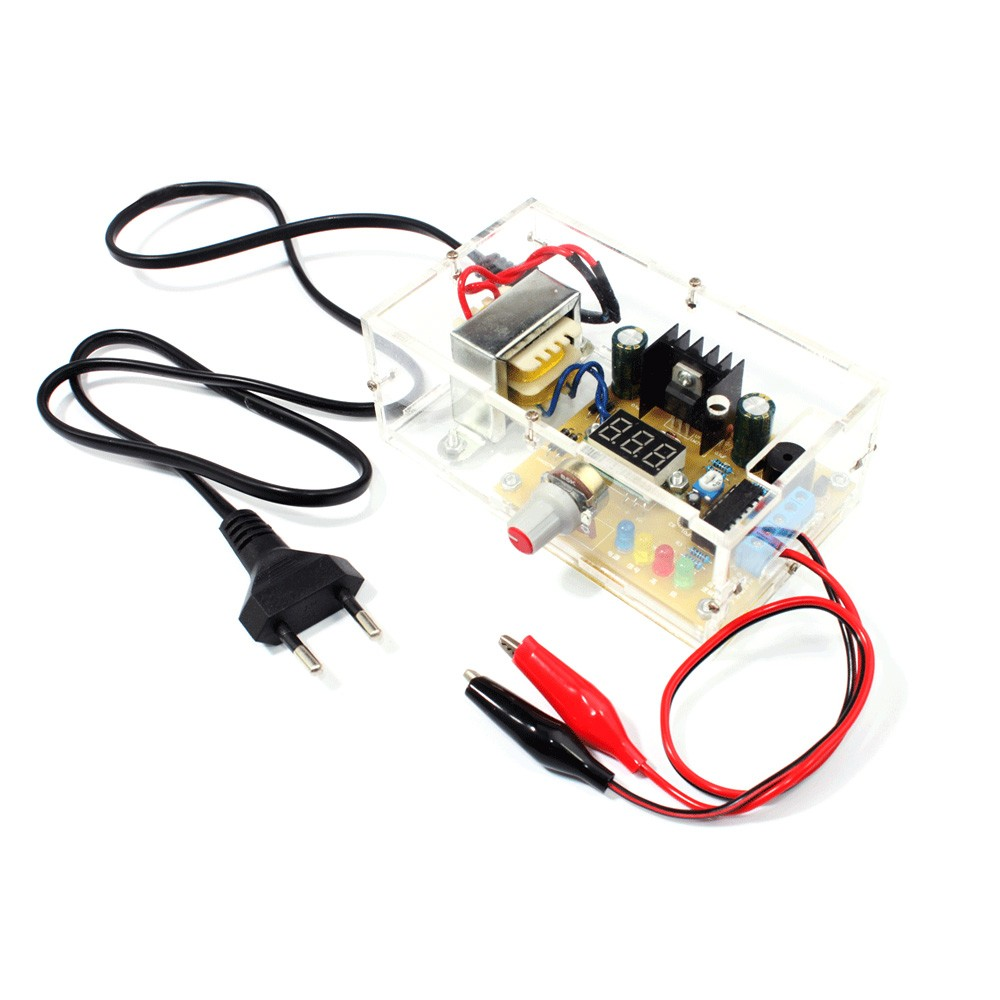 Lm317 125v 12v Continuously Adjustable Regulated Voltage Power Simple Miniature Motor Controller By Electronic Projects Supply Diy Kit In Integrated Circuits From Components Supplies On