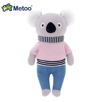 КМягкая плюшевая кукла Metoo коала, панда 6