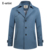E-artista Mens Slim Fit Business Casual Único Breasted Trench Coat Primavera Otoño Abrigo Chaqueta Corta Outwear Tallas grandes 5XL F13