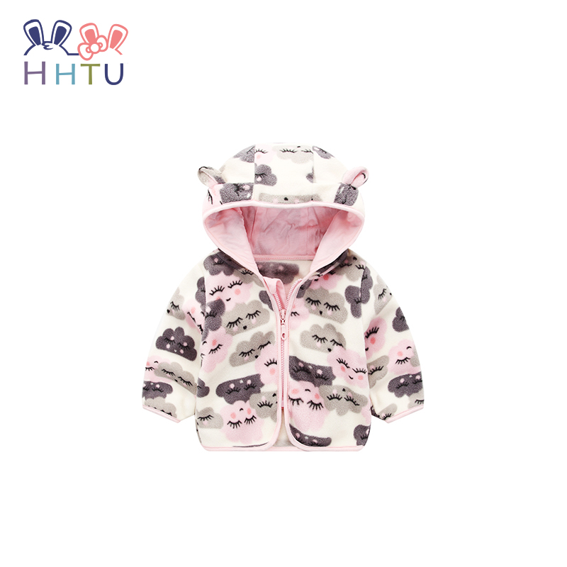 71d23b80c HHTU Cute Spring Kids Jacket Baby Boys Grils Hooded Outerwear Coats Long  Sleeve Newborn Clothes Kids