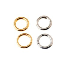 Free Shipping-8Pcs Unwelded Leather Bag Metal Crafts DIY Ring Clasp 29mm(Inside: 19mm ) Connect Buckle