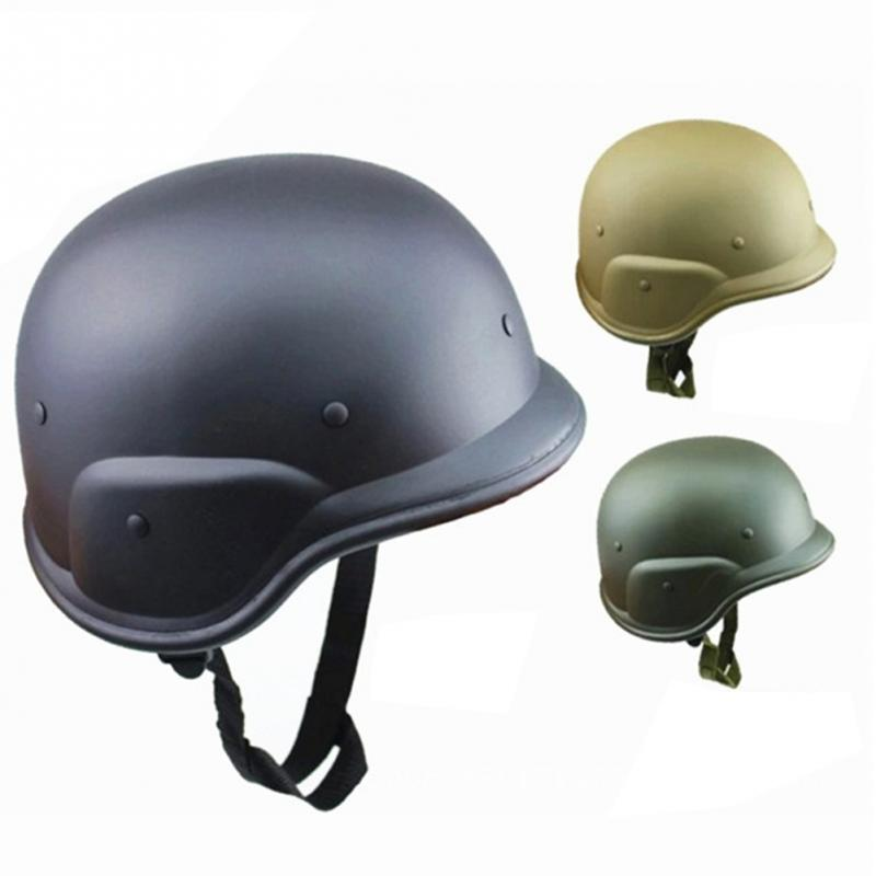 Hunting Solid M88 ABS plastic camouflage helmet tactics CS US military combat motorcycle helmets Protect men airsoft in Bicycle Helmet from Sports Entertainment
