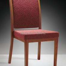Качественные Роскошные прочные штабелированные деревянные алюминиевые стулья для отелей Ресторан LQ-L803