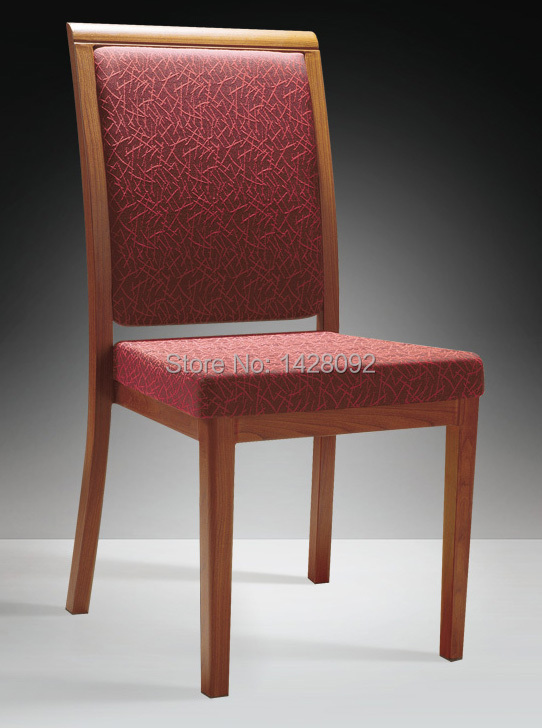 Wholesale Quality Luxury Strong  Stacking Woodgrain Aluminum Chairs For Hotels Restaurant LQ-L803