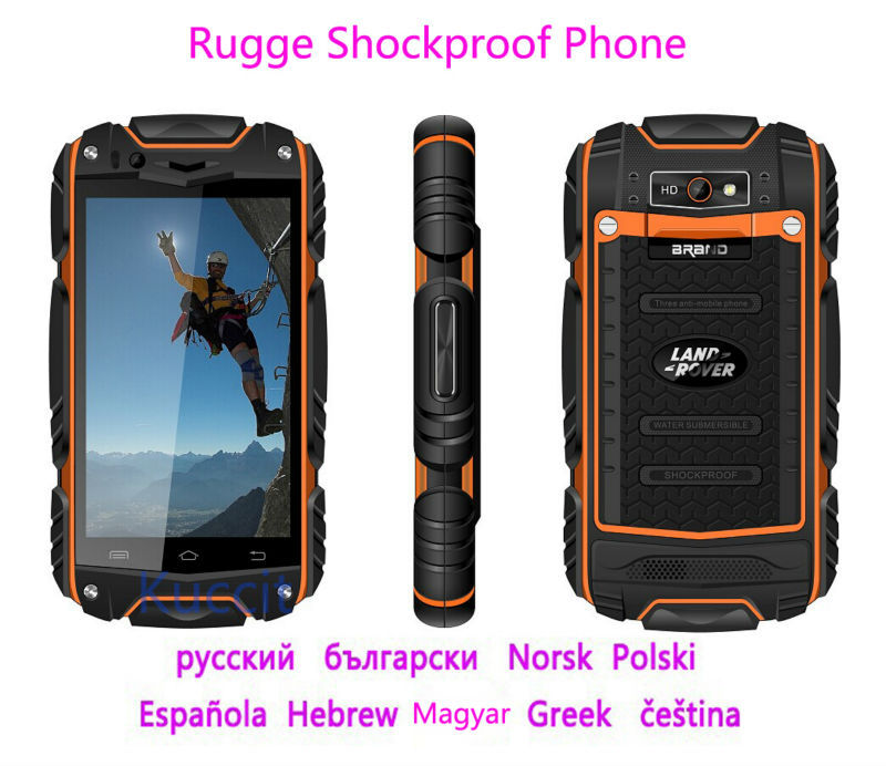 Original Discovery V8 Mtk6572 Rugged Android 4 2