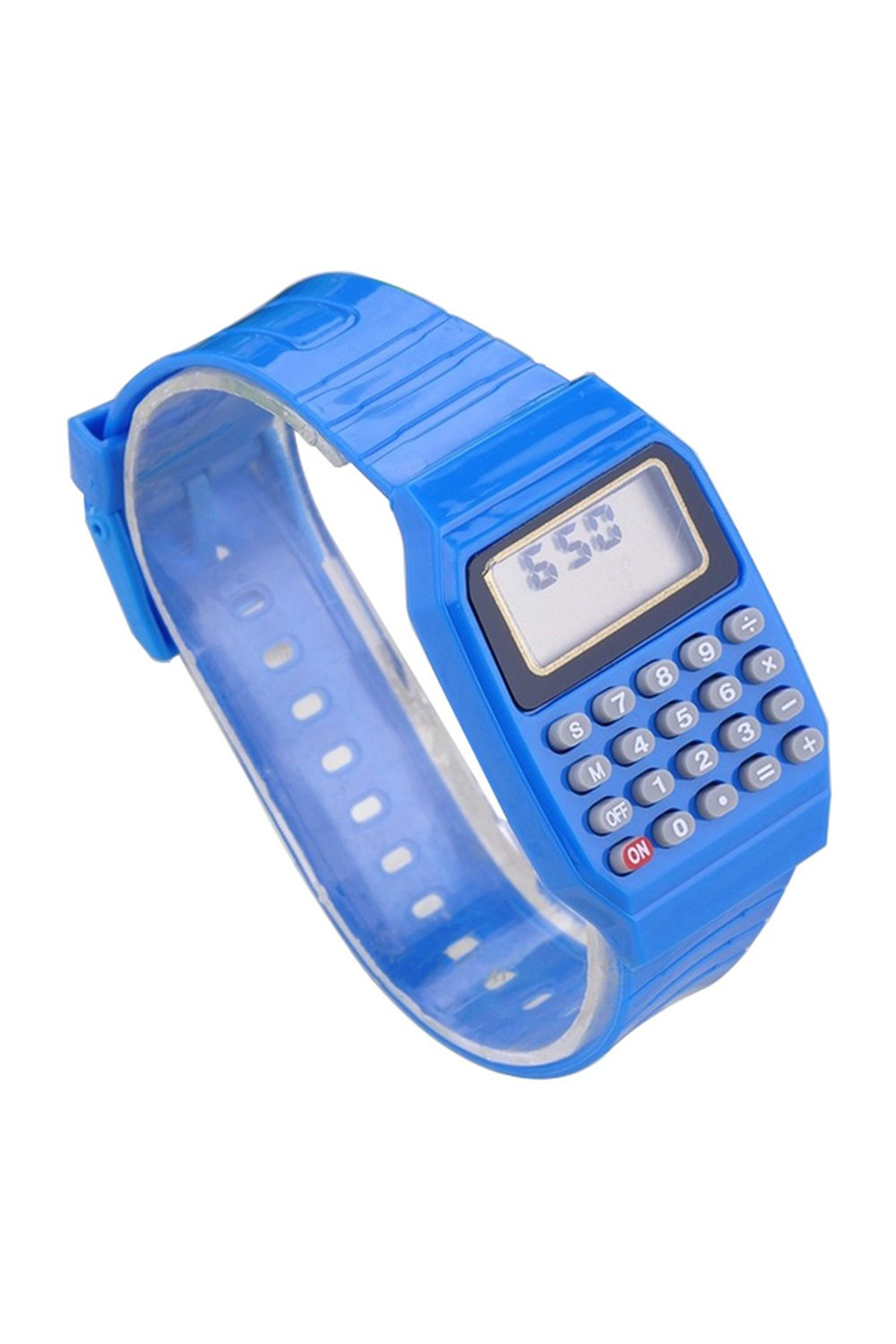 BLEL Hot Boys And Girls Silicone Date Display Electronic Watch Multifunction Calculator Watch Kids Calculator Watch