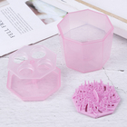 1PC Pink Silicone Cl...