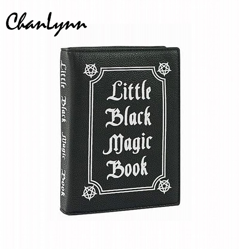 Luxury Brand Fashion Women Crossbody Bags Magic Book PU Leather Shoulder Bags Woman Cover Small Pouch Messenger Bag Letter Purse