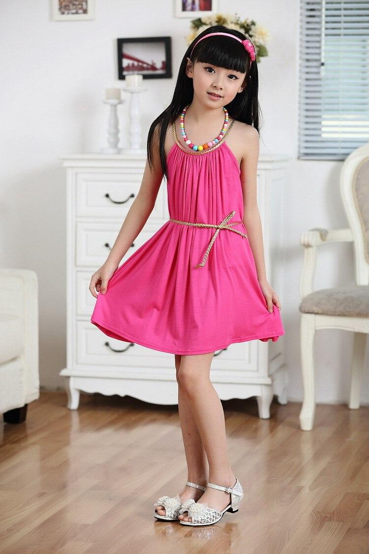 2c7ea5a76 Free shipping Girl Dress Summer Kid Clothes Sleeveless Baby Princess ...