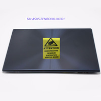 Free shipping 13.3'' for Asus Zenbook UX301 UX301LA LCD Display with Touch Assembly Upper Parts FHD QHD BLUE COLOR