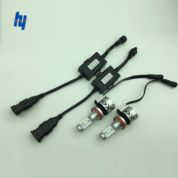 12000 Lumen 72W H7 H4 Car font b Led b font Headlights Super Bright IP65 H11