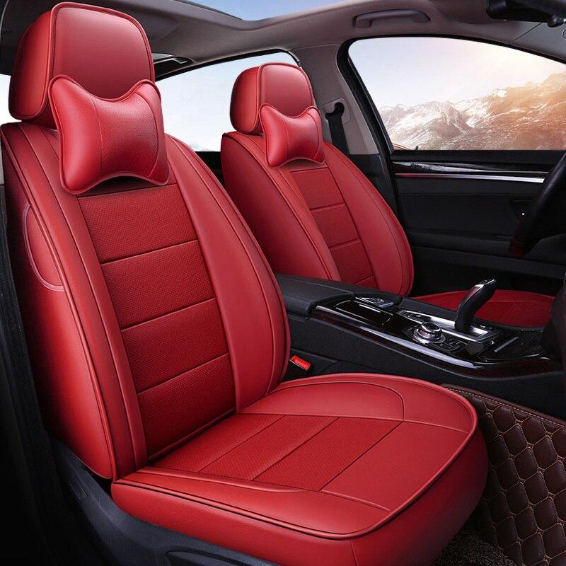 Пользовательские сиденье автомобиля кожаный чехол для Ford Focus края побег Mondeo Kuga S-MAX поддерживает Chrysler 300C PT Cruiser аксессуары для укладки