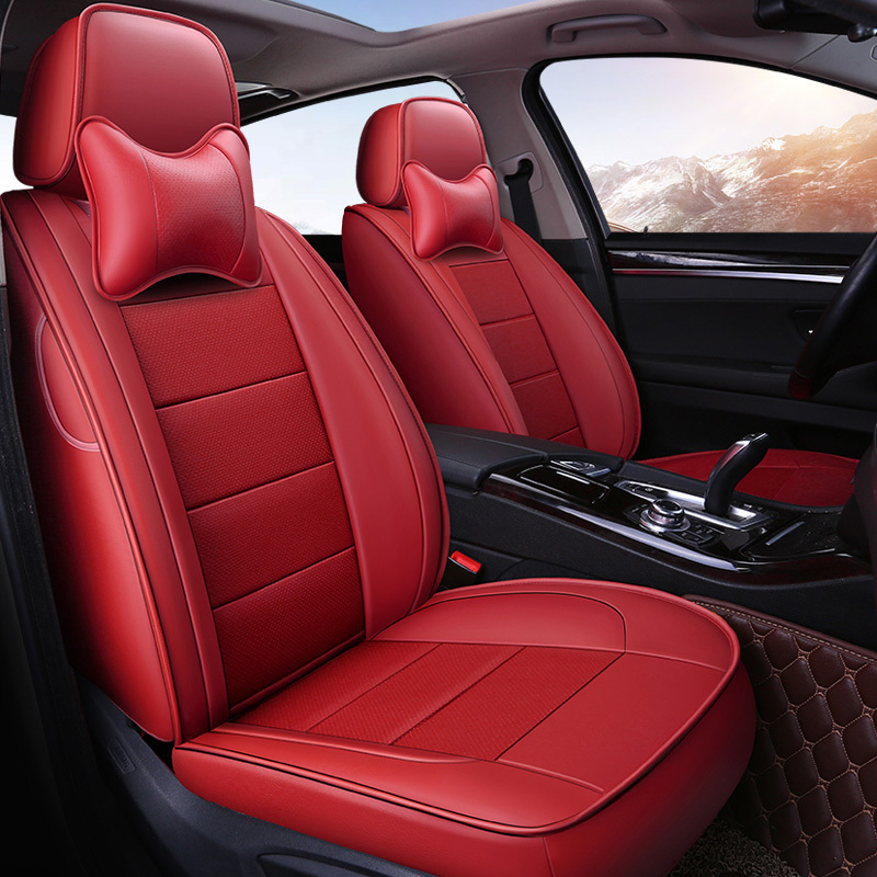 Custom car seat cover For Ford Focus Edge Escape Mondeo Kuga S-MAX Chrysler 300C PT Cruiser Grand Voyager accessories styling