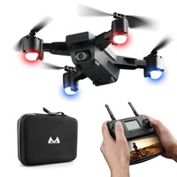 SMRC S20 6 Axles Gyro Mini GPS Drone With 110 Degree Wide Angle Camera 2.4G Altitude Hold RC Quadcopter Portable RC Drone Model