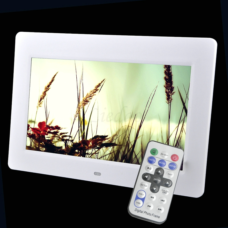 2017 New 10 2 inches LED 1024 600 Wide Screen Photo Frame Electronic Album Photo Music