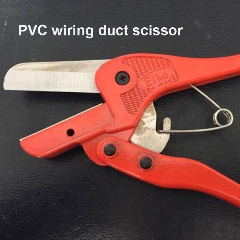 Free Shipping 1PC / Lot Good Quality WT-1 PVC Pipe and Cable wire duct Cutters, Knife Suit For 50mm Width PVC Wire Duct vc 60a ratchet cable wire cutters cut steel strand wire cutters wire cutters cut wire