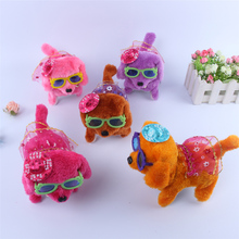 Color Random 1PC Hot Selling New Fashion Walking Barking font b Toy b font Funny Electric