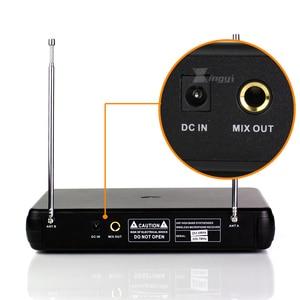 Image 2 - מקצועי אלחוטי מיקרופון Headworn מיקרופון 2 ערוצים דיגיטלי אלחוטי מקלט BLX1 Bodypack משדר עבור שלב שירה