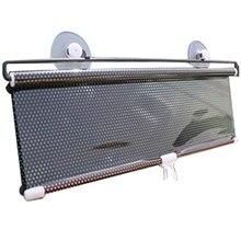 Dewtreetali 40cm*60cm Car Windshield Sunshade Shield Retractable Side Window Solar Protection Sun Shade Curtain