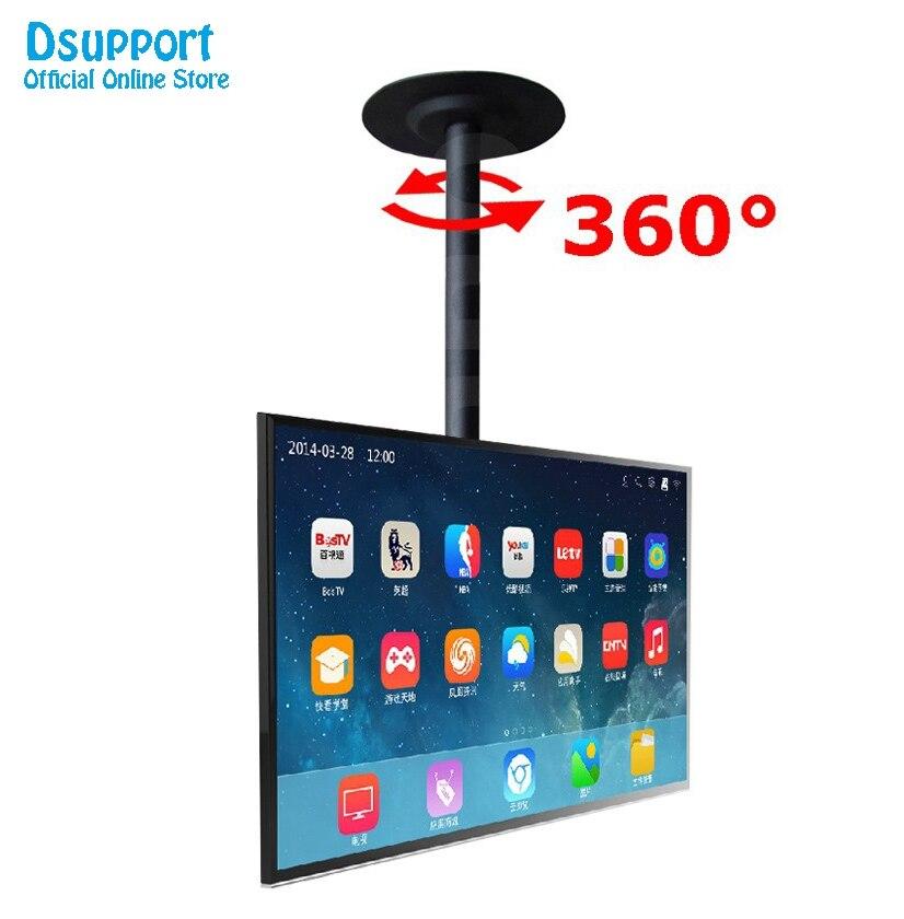 """Full Rotating Adjustable 13""""-37"""" Ceiling TV Mount Bracket LED LCD Monitor Holder"""