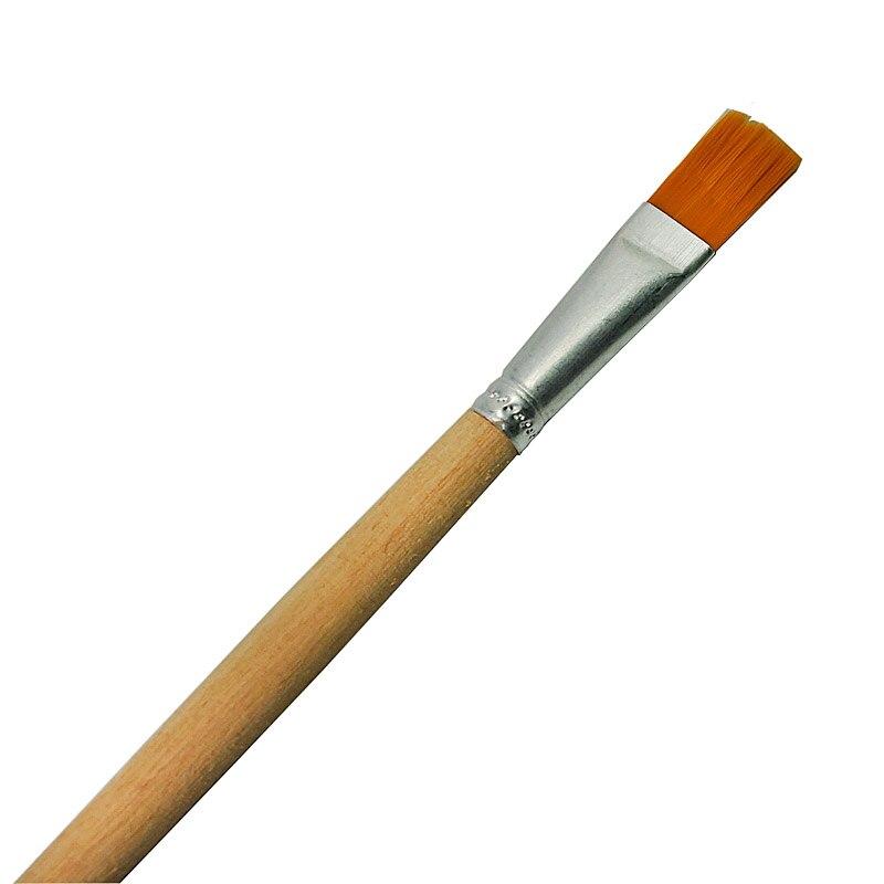 ESD Soft Bristles Dust Cleaning Brush Mobile Phone Tablet Repair Cleaning Tool Soldering Repair Brush With Wooden Handle