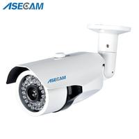 Новое поступление HD 1080P IP камера 3MP H.265 POE CCTV HI3516C Bullet белая металлическая Водонепроницаемая сеть Onvif P2P охранное наблюдение