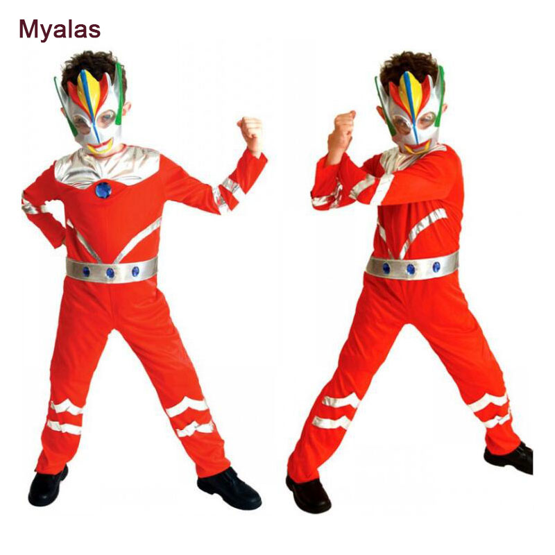 7-23-10 Cosplay Costume For Boy Halloween Costume for Kids Role Play Cosplay Costume Christmas Birthday Carnaval Costume