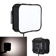 23*23 Softbox Diffuser for YONGNUO YN600L II YN900 YN300 YN300 III IV Led Video Light Panel Foldable Soft Filter