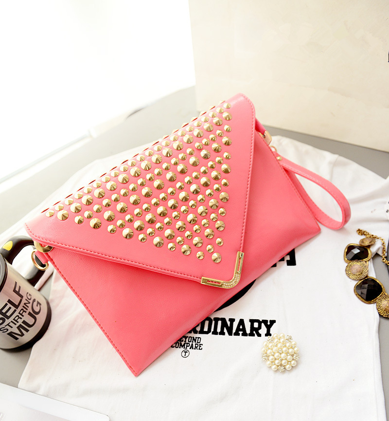 Designer Womens Clutch Bags 2015 for Evening Parties Rivet Women ...