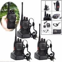 "bf 888s 3pcs Baofeng BF888S רדיו דו כיווני BF 888S 6 ק""מ מכשיר הקשר 5W Portable CB רדיו כף יד HF משדר Interphone BF888S (5)"