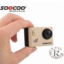 SOOCOO C30/C30R Action Camera 4 k Giroscópio Wi-fi Ajustável do ângulo de Visão de 170 Graus 2.0 LCD NTK96660 IMX078 30 m Câmera À Prova D' Água