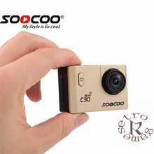 SOOCOO C30 / C30R Action Camera 4K Gyro Wifi Adjustable Viewing angle 170 Degrees 2.0 LCD NTK96660 IMX078 30M Waterproof Camera