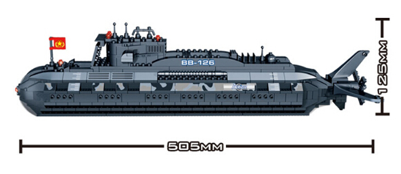Model building kit compatible with lego military submarine U-boat 3D blocks Educational model building toys hobbies for children model building kit compatible with lego aircraft carriers cruiser 3d blocks educational model building toys hobbies for children