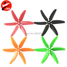 Quality 4 Pairs 6 Blades 5045 CW CCW ABS Propeller Props Six-Blade X5045 6 leaf Quadcopter Propellers for FPV UAV racing Drone
