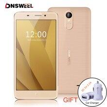 Оригинал Leagoo M5 Плюс 4 Г Мобильный Телефон RAM 2 ГБ ROM 16 ГБ MT6737 Quad Core 5.5 дюймов 2500 мАч Android 6.0 Отпечатков Пальцев ID Смартфон