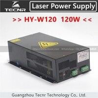 TECNR 100 Вт 120 Вт CO2 лазерного источника питания HY W120 для лазерной гравировки и резки