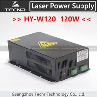 TECNR 100W 120W CO2 laser power supply HY W120 for laser engraving and cutting machine